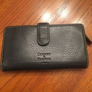 D&K black and red wallet